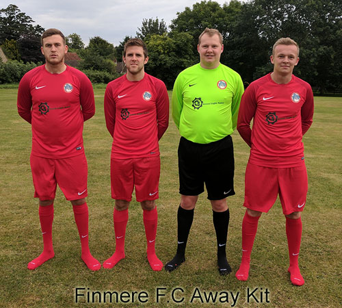 Finmere FC - Green Light Autos Away Kit