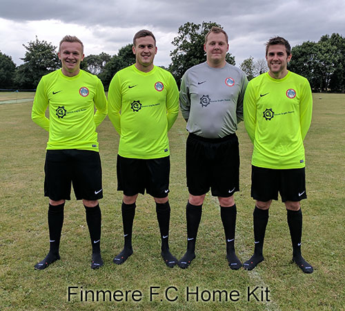 Finmere FC - Green Light Autos Home Kit